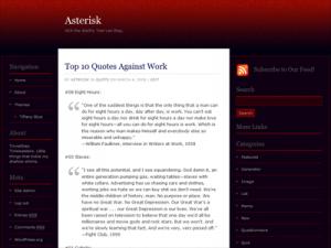 Rubidious Theme for WordPress preview image