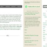 Too Newsy WordPress theme image preview