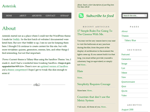 Too Newsy WordPress theme image preview