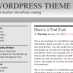 Redbook theme for WordPress preview image