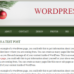 'Tis The Season Theme for WordPress preview image