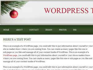 'Tis The Season Theme for WordPress preview image
