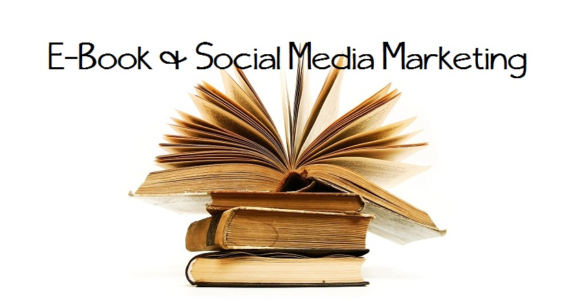 Ebooks incorporated into social media marketing