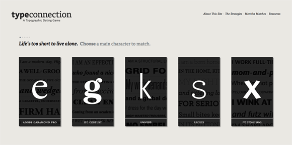 Type Connection website