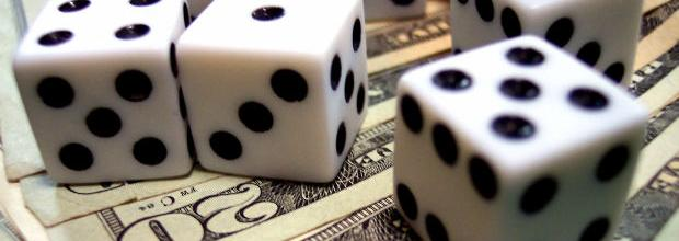 Dice and Money Image
