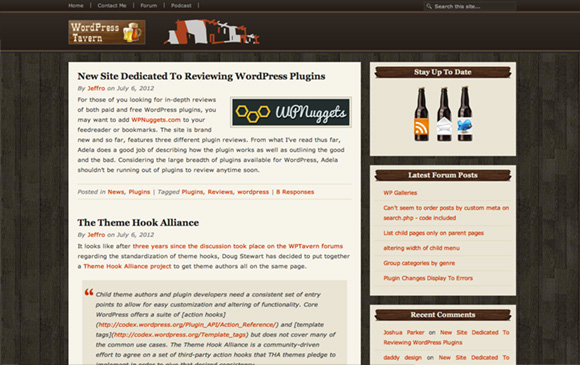 WordPress Tavern website