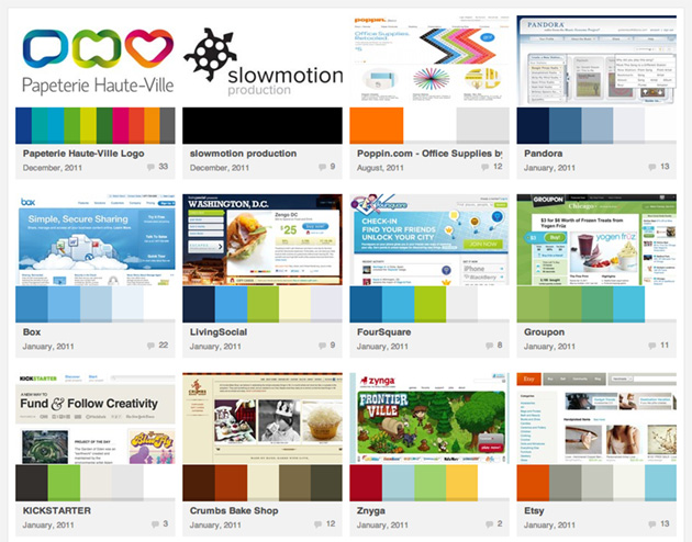 Pick A Color Scheme COLOURlovers Website