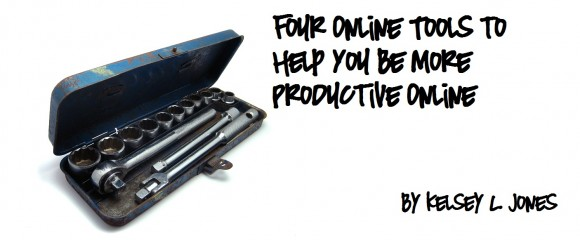 Four Online Tools to Help You Be More Productive Online