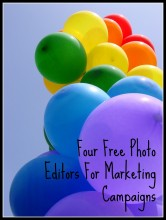 four free photo editors for marketing campaigns