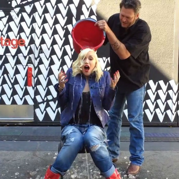 Gwen Stefani ice bucket